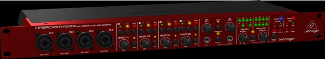 Novas Interfaces de áudio da Behringer