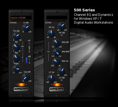 OverTone DSP lança Equalizadores e Compressor Baseado na Série 500 da API