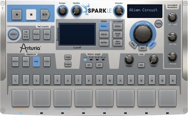 Arturia atualiza Spark & SparkLE para v1.7