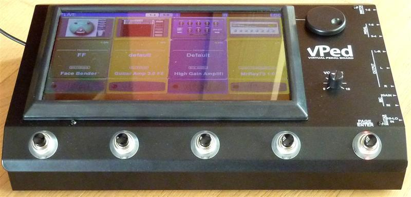 Virtones Vpad - Seus VSTs dentro de um pedal