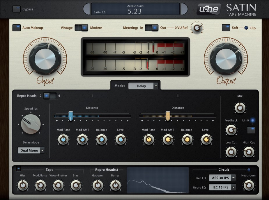 u-he Satin Tape Machine - REVIEW