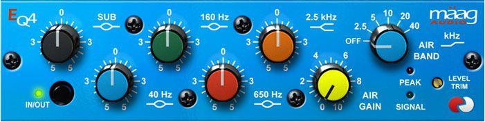 Universal Audio Adiciona o Plug-In Maag EQ4  para plataforma UAD