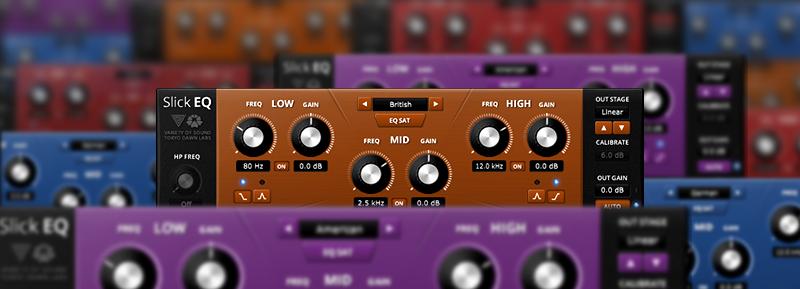 TDR VOS SLICKEQ - Equalizador Gratuito para Mixagem e Masterização