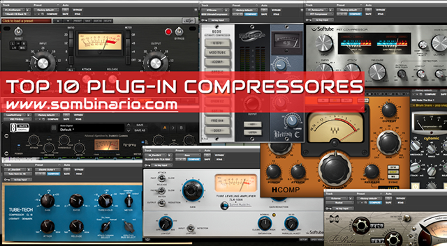 TOP 12 Plug-ins Compressores