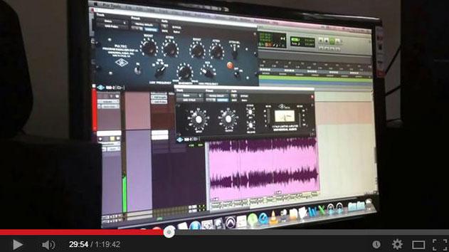 Composição, mixagem e masterização de uma música