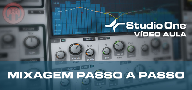 Mixando no Studio One 2 Professional [VIDEO AULA COMPLETA]