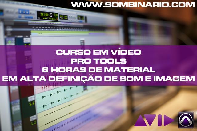 Vídeo Aula Pro Tools