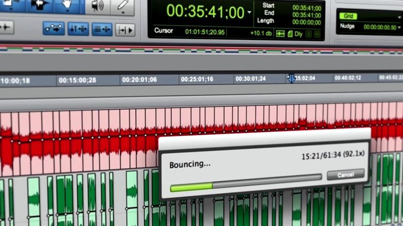 Pro Tools - Freeze Tracks [offline bounce]