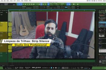Limpando as Trilhas Antes da Mixagem: Strip Silence