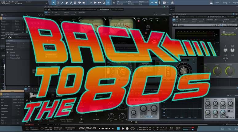 As Baterias dos Anos 80 Estão de Volta: Dicas de Mixagem