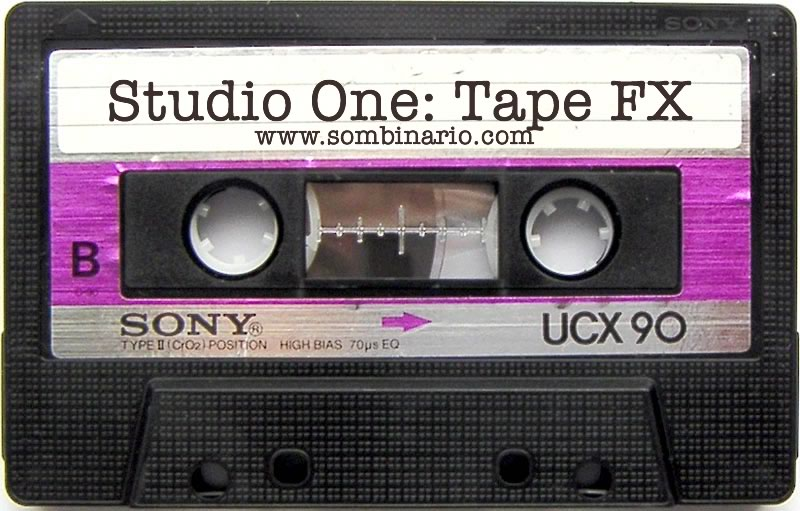 Studio One: Efeito de Fita Parando [Tape Stop Effect]