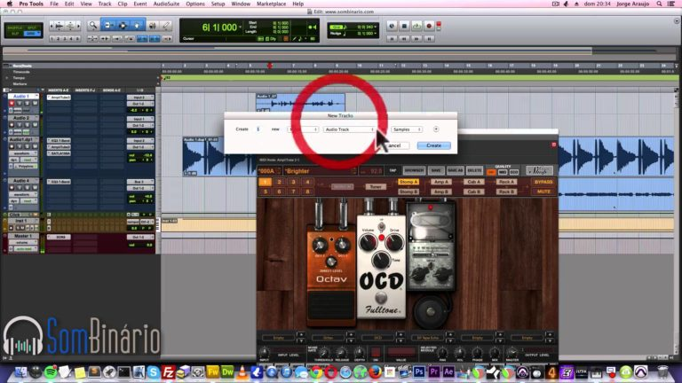 Pro Tools 10.3.10: Track Template