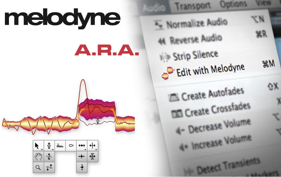 Melodyne: Tecnologia ARA [Audio Random Access]