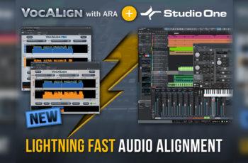 Studio One e VocALign: Uma nova abordagem na edição de vozes