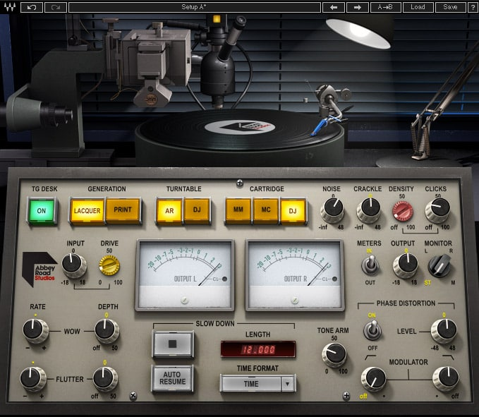 Waves Abbey Road Vinyl Plugin