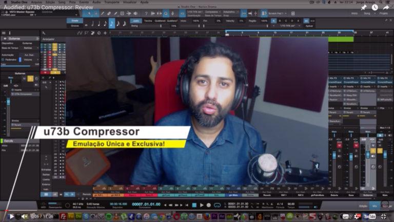 Audified: u73b Compressor: Review e Dicas de Mixagem