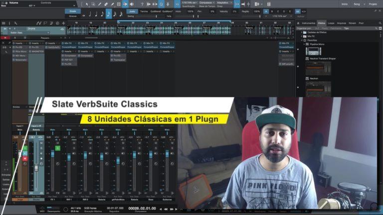 Slate Digital VerbSuite Classics: 8 Unidades de Reverb Clássicas em Um Único Plugin