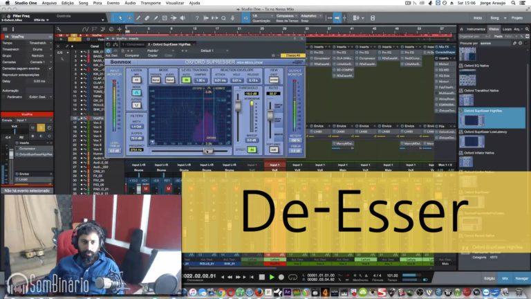 Mixagem Vocal de RAP: Controlando Sibilância na Voz com Processamento De-Esser