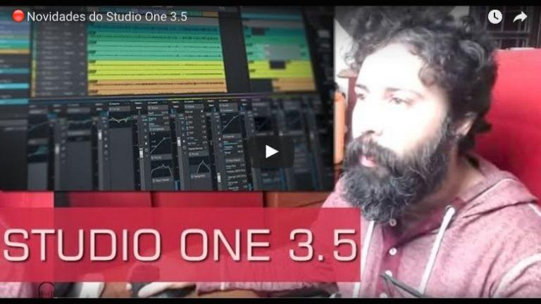 PreSonus lança Studio One 3.5 UPDATE GRATUITO