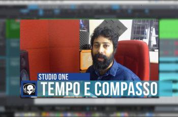 Alterando o Andamento da Música no Studio One: Tempo e Compasso