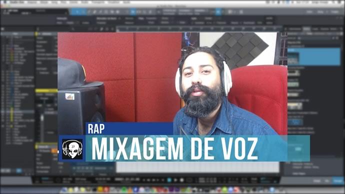 Mixagem Vocal de RAP Com Microfone Dinâmico Barato