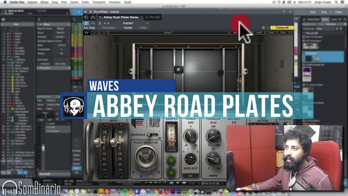O Reverb dos Grandes Discos! Waves Abbey Road Plates