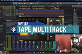 Softube TAPE MultiTrack [Simulação de Fita Multitrack]