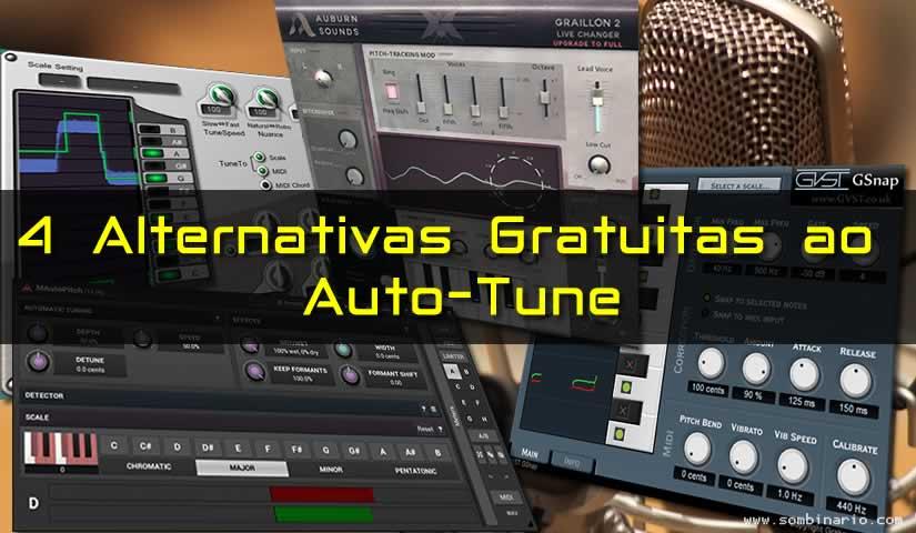 4 Alternativas Gratuitas ao Auto-tune para Download