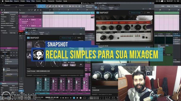 Recall Simples para sua Mixagem com o Plugin Snapshot