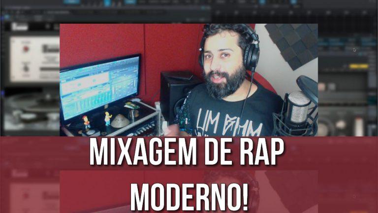 Mixagem de um RAP Moderno