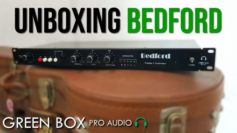 Green Box Pro Audio Bedford UNBOXING