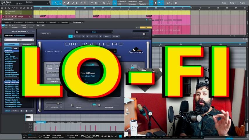 Criação e Mixagem de Beat Lo-Fi