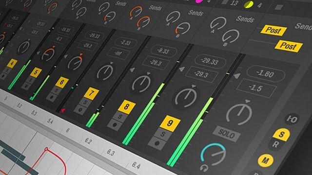Ableton Live: Exportar Arquivos para Serviço de Mixagem