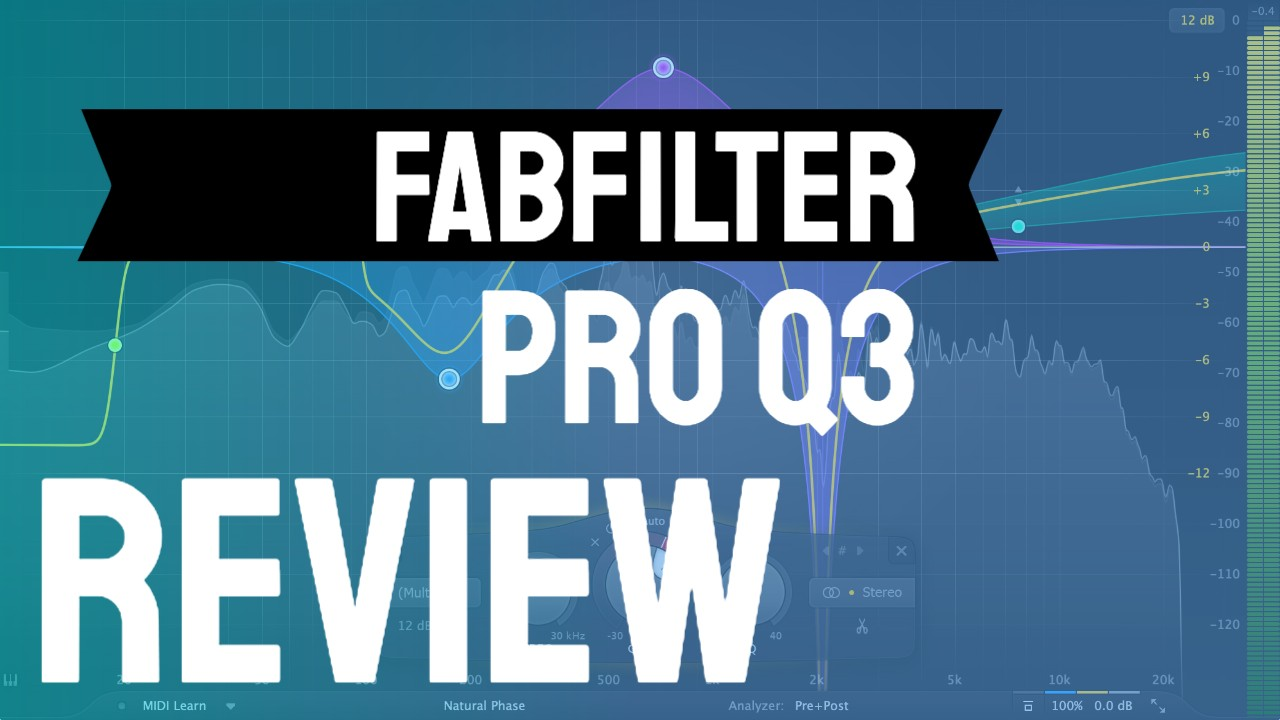 Fabfilter Pro-EQ 3 Review e Tutorial