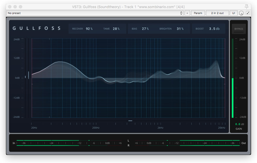 Soundtheory Gullfoss: Equalização Automática e Inteligente