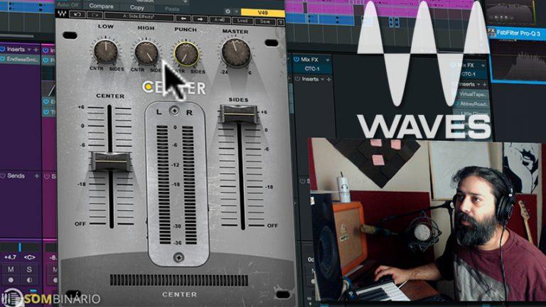 Melhore a Imagem Estéreo da Mixagem com o Waves Center