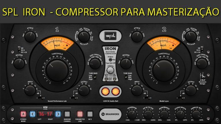 SPL IRON - Compressor Avançado para Masterização