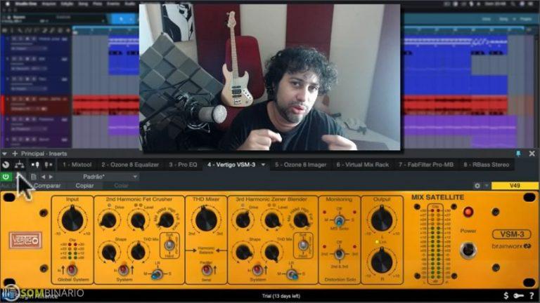 Masterizando e Mixando Beat de Trap com o VERTIGO VSM-3
