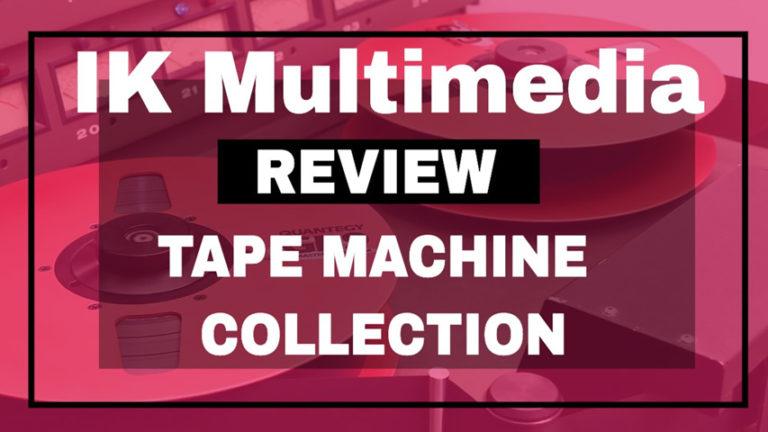 Ik Multimedia T-Racks: TAPE MACHINE COLLECTION