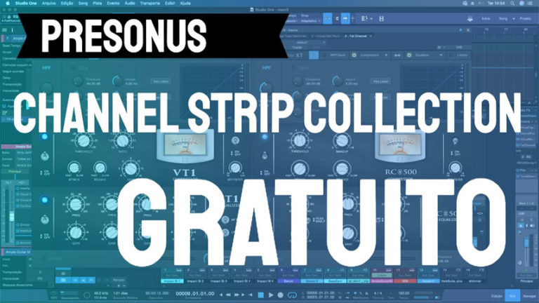 Presonus Channel Strip Collection: Plugin Gratuito do Studio One