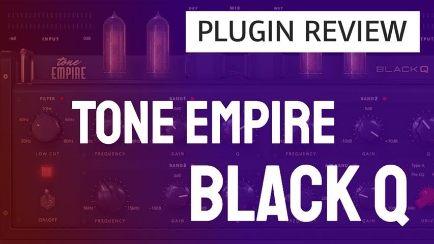 Primeira vista com o BLACK Q da Tone Empire