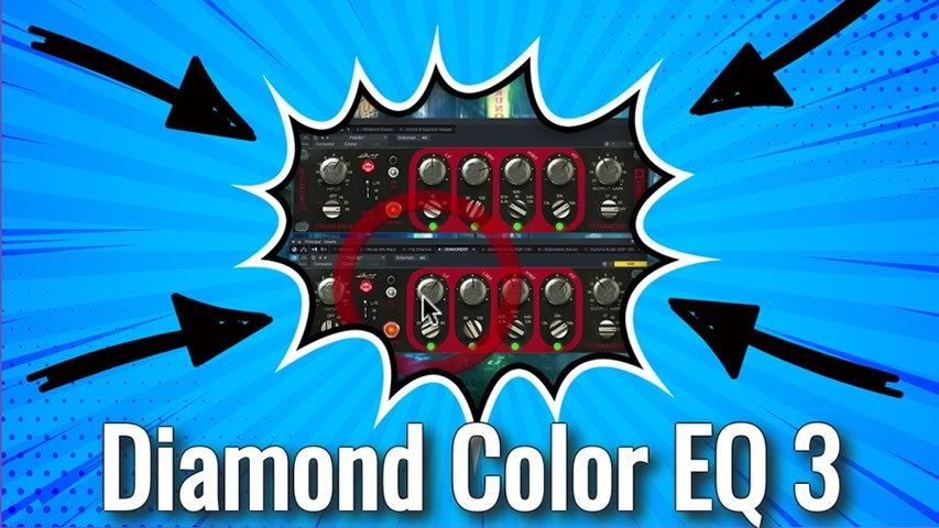 Acustica Audio: Diamond Color EQ 3 PRIMEIRA VISTA