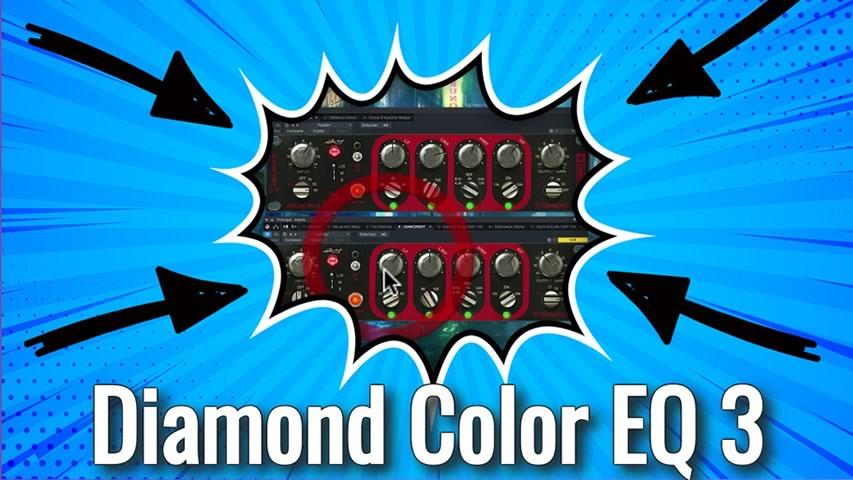 Acustica Audio: Diamond Color EQ 3 PRIMEIRA VISTA