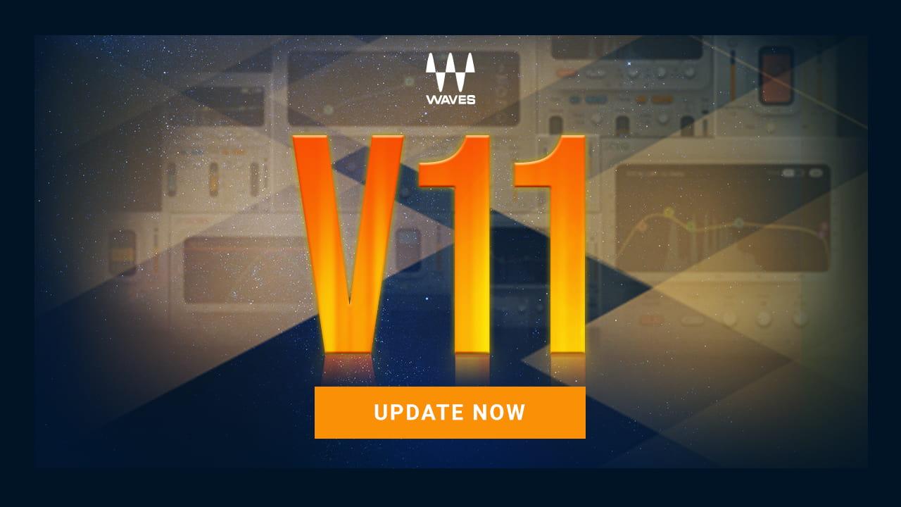 Waves Atualiza para a versão 11 compatível com novos sistemas