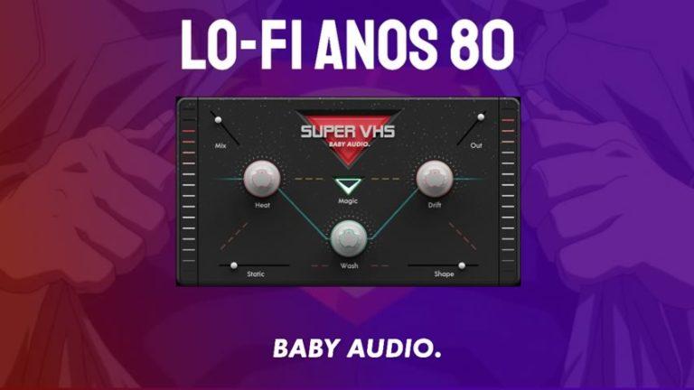 Baby Audio Super VHS - Vibe LO-FI anos 80
