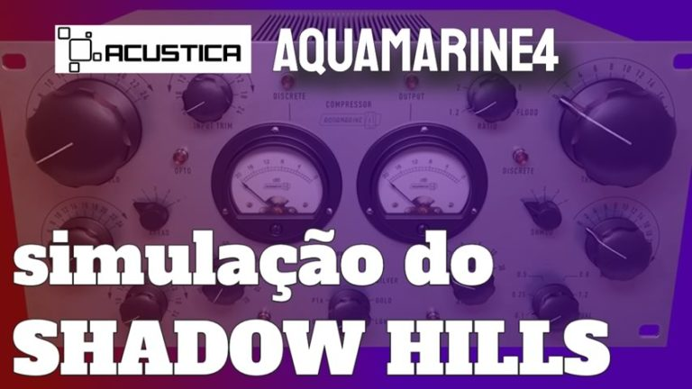 Acustica Audio Aquamarine4 [SHADOW HILLS]