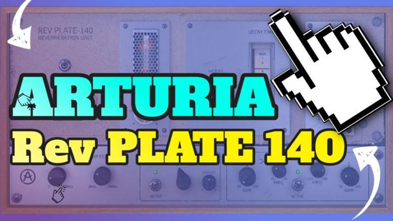 Arturia Rev Plate-140 GRATUITO até dia 25