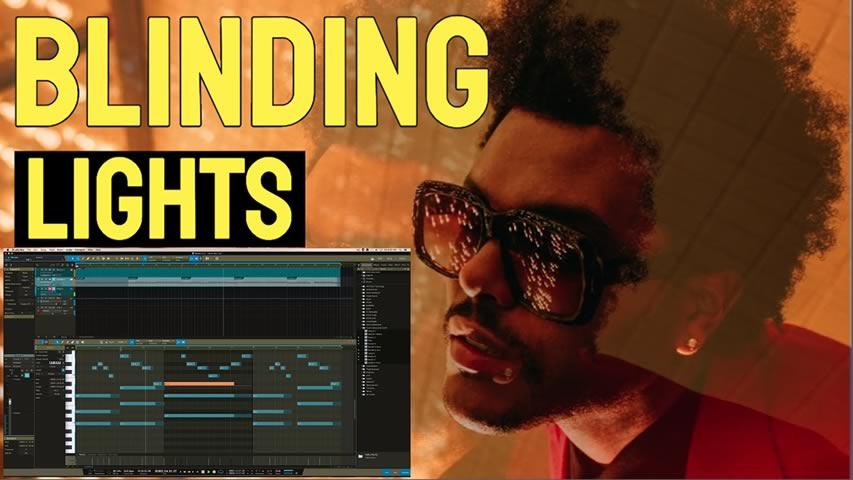 Refazendo Blinding Lights de Weeknd