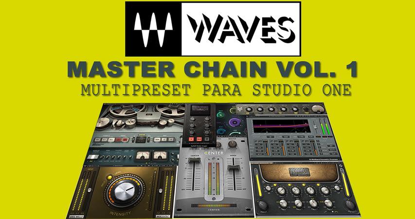 Masterização fácil com alguns plugins da Waves