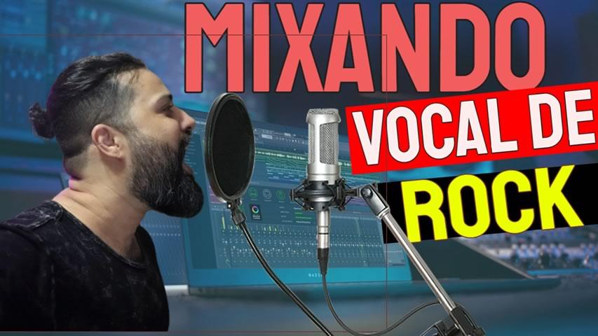 Equalizando e Comprimindo Vocal de Rock